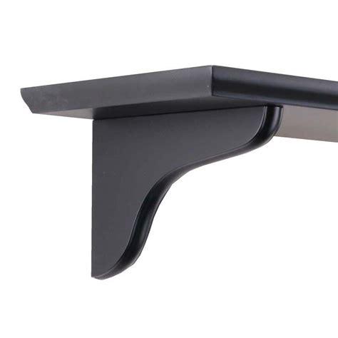 Shelf Corbel by Knape Vogt 7 In Black Wood Decorative Shelf Corbel 0138