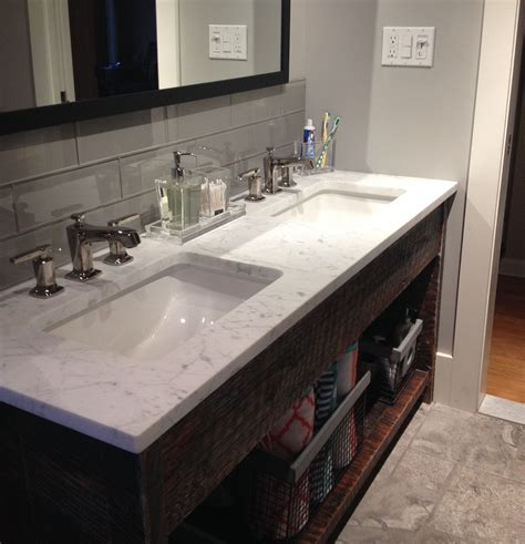 How To Install Glass Tile Backsplash In Bathroom by Smoke Glass 4 Quot X 12 Quot Subway Tile Bathroom Ideas