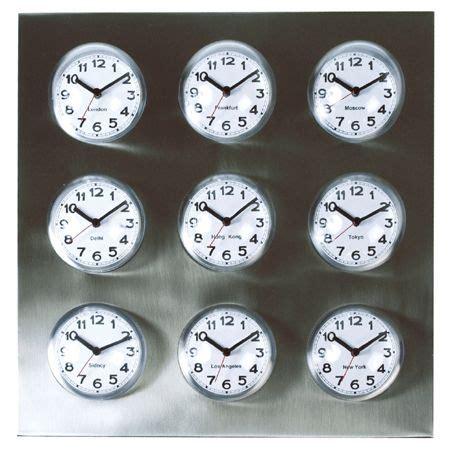 global clocks offers unique glimpse world markets