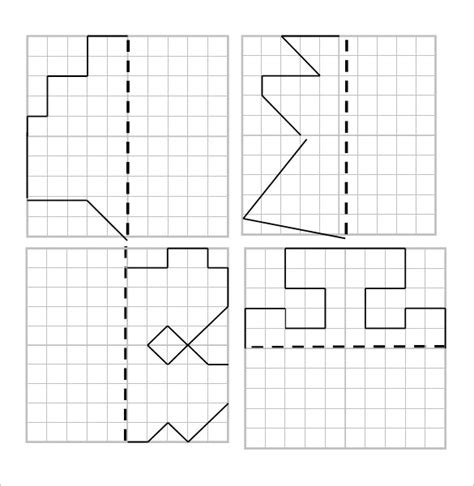 6+ Reflective Symmetry Worksheet Templates & Samples  Doc, Pdf  Free & Premium Templates