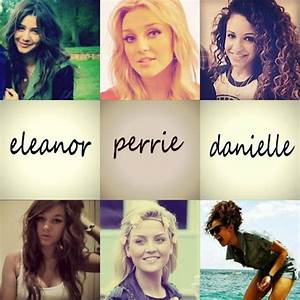 Eleanor Calder, Perrie Edwards, and Danielle Peazer ...