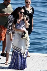 Georgina Chapman in Georgina Chapman On a Boat in Cannes ...