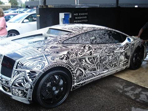 lamborghini custom paint exotic whips sharpie lambo pictures