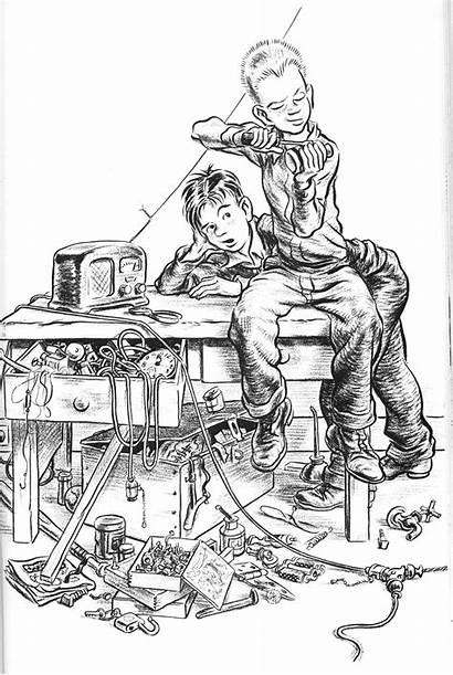 Mccloskey Robert Homer Illustrations Books Illustration Artist