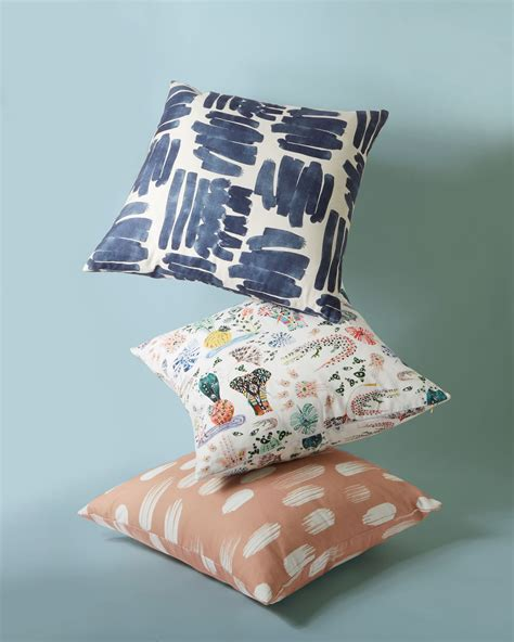 space pop   patterned throw pillows