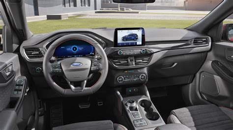 ford kuga 2020 interior 2020 ford kuga debuts with a in hybrid variant