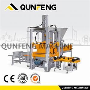 China Qf400  Manual  Block Making Machine  Brick Machine