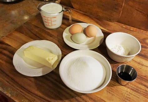 buttermilk pie baking  eggs