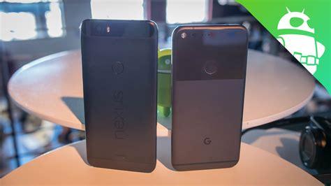 pixel xl vs nexus 6p android authority