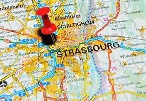 STRASBOURG FRANCE MAP Recana Masana