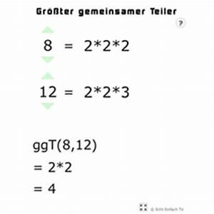 Primzahlen Berechnen Formel : lektion g11 ggt und kgv matheretter ~ Themetempest.com Abrechnung