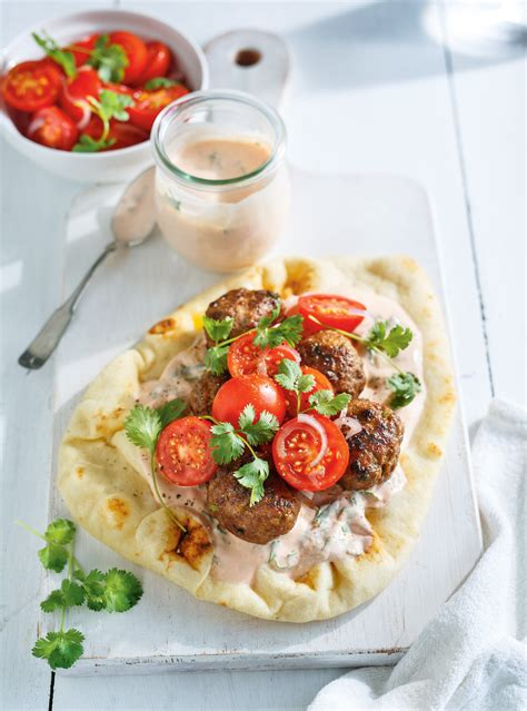 recette cuisine sur tf1 keftas de boeuf sur naan ricardo