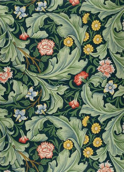 Vision Nature The Designs William Morris