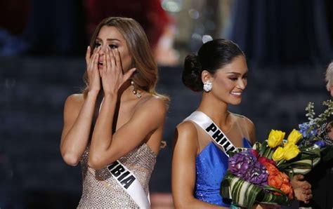 miss univers 2015 miss colombie devient miss univers