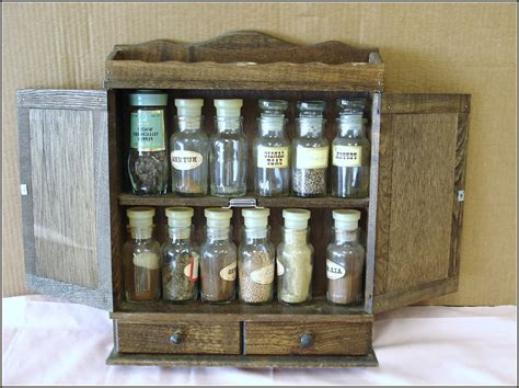 Types Wooden Vintage Spice Cabinet Cicompanies Build