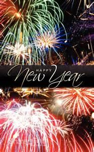 Happy New Year Church Bulletin Cover