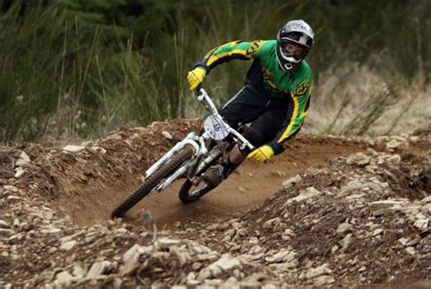 Downhill mountain bike racing is a thrill-packed, muddy ...