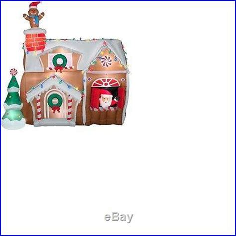 ft airblown inflatable animated lighted christmas