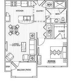 Beautiful Apartment Floor Plans by 5 Exceptional One Bedroom Apartment Floor Plans