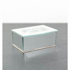 Miroir Boite A Bijoux : boite bijoux miroir vintage ~ Teatrodelosmanantiales.com Idées de Décoration