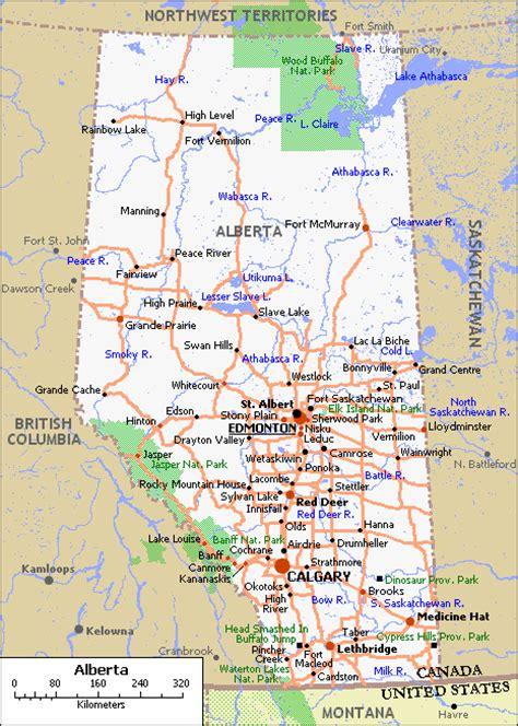 map  alberta