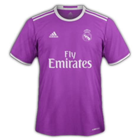 maillot real madrid exterieur les maillots de football des clubs 2016 2017