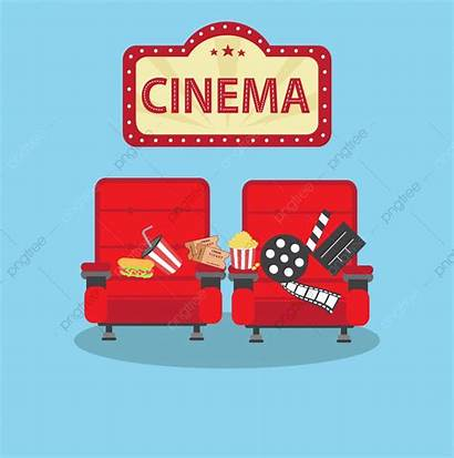 Cinema Movie Chair Clipart Commercial Upgrade Icon