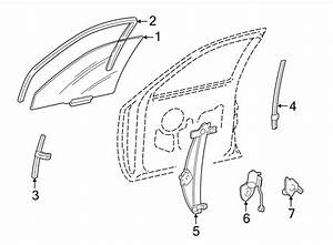 Lincoln Town Car Window Channel  From 8  24  2000  To 8  24