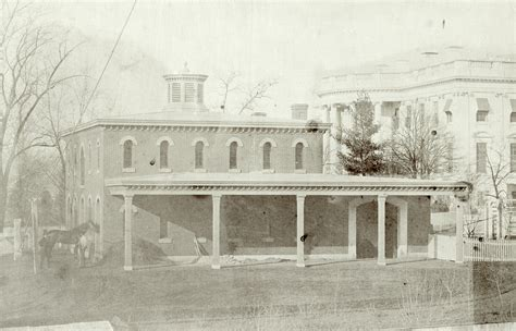 rare photo  white house stables ghosts  dc