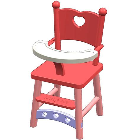 chaise haute pour poupee baby high chair clipart pixshark com images