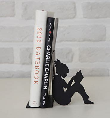 Girl Reading Book End
