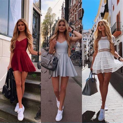 fashion model pamela reif maxi dress  stylevore