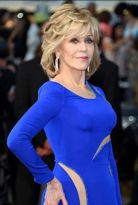 77 year old Jane Fonda stuns in a Versace gown