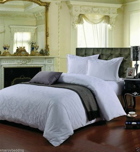 Cotton Duvet Sets King by White King Size Cotton 500 Thread Count