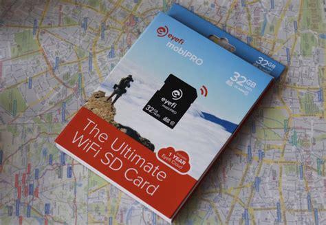 wifi sd karte ausprobiert eyefi mobi pro wifi sd karte 32gb wifi