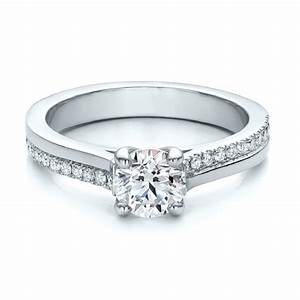 diamond engagement side stone rings online ramzi39s With dual band wedding rings