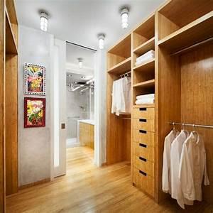 chambre avec dressing et salle de bain en 55 idees With chambre parentale dressing salle de bain