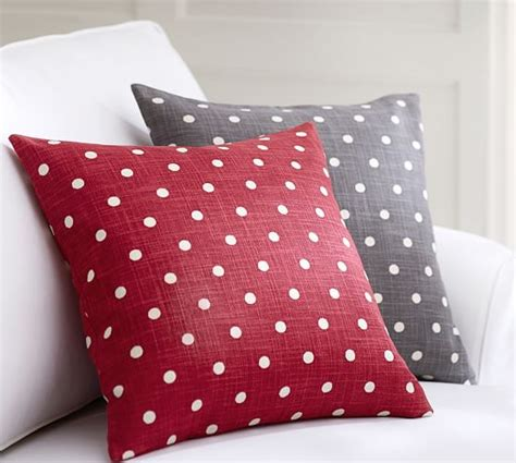 Dot Beaded Pillow Cover Pottery Barn by Polka Dot Pillow Cover Pottery Barn