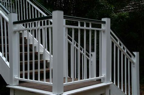 photos of painted decks aluminium balustrading brisbane balustrade brisbane