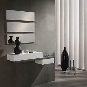 Meuble D Entrée : meuble d entree contemporain ermes zd1 meu dentr ~ Teatrodelosmanantiales.com Idées de Décoration