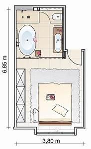 Kleines Schlafzimmer Einrichten Grundriss : vorher nachher kombi raum aus bad und schlafzimmer sch ner wohnen ~ Markanthonyermac.com Haus und Dekorationen