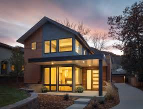 sloping lot house plans value driven modern home modern exterior denver by hmh architecture interiors