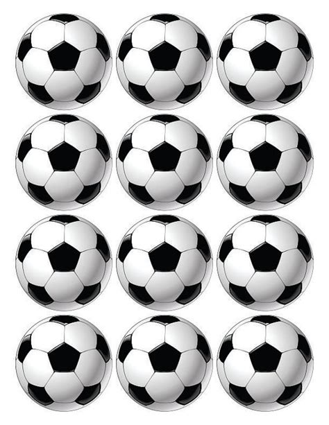 soccer cupcake toppers soccer toppers printable birthday