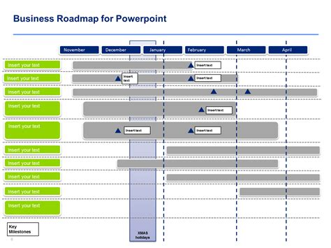 business roadmap templates powerpoint business roadmap