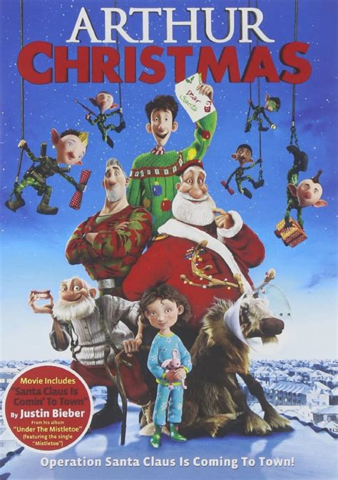 arthur christmas  dvd   reg  wheel