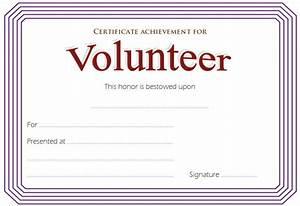 volunteer certificate template 8jpg the best template With volunteering certificate template