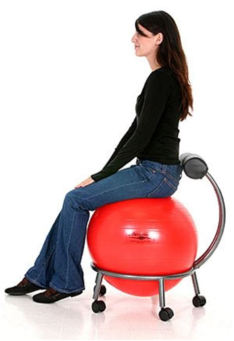 yoga ball office chair good or bad interesting gray gaiam