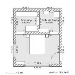 Plan Amenagement Chambre 12m2 by Plan Chambre Parentale Avec Salle De Bain Et Dressing 10