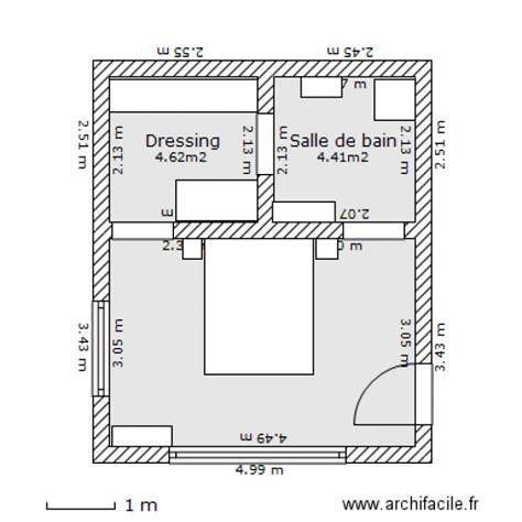 plan chambre parentale plan chambre parentale avec salle de bain et dressing 10