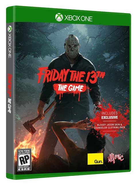 xbox 9ne games friday the 13th the physical edition to be released on friday october 13th a new